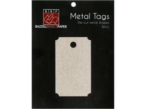 Movie Ticket Metal Tag by Bazzill