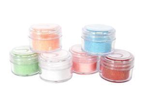 Silhouette Glitter: Pastel Colors.