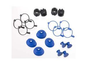 Traxxas 5378X Pivot Ball Caps (4) Dust Boots Rubber (4)