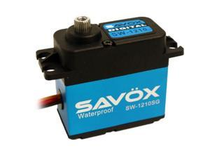 Savox SW1210SG Waterproof Coreless Digital Servo .15/277.7 Aluminum Case