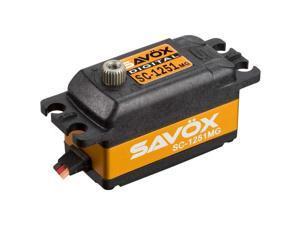 Savox SC1251MG Low Profile Digital Servo .09/125