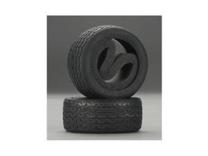 HPI Racing 4793 Vintage Racing Tires 26mm D Compound (2)
