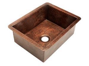 Belle Foret BFC4BARWC Bar Sink , Fixture, Weathered Copper