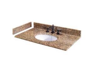 Pegasus 25649 Vanity Top , Fixture, Montesol Granite