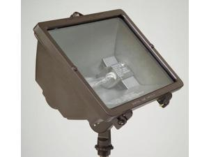 Hubbell Lighting Outdoor QL-505 1 Light 300-500 Watt Quartz Outdoor Floodlight, Gray