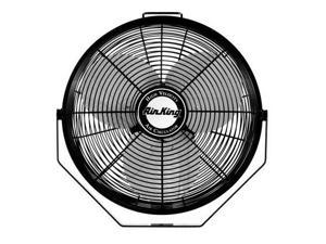 "Air King 9314 14"" 1650 CFM 3-Speed Industrial Grade Multi Mount Fan with Pivoting Head"