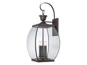 Quoizel Oasis Outdoor Wall Lantern, Pewter - OAS8413Z