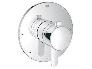 Grohe 19881000 GrohFlex Cosmopolitan Pressure Balance Valve Trim with Integrated Volume Control, Starlight Chrome
