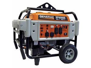 Generac 5931 8000 Watt, 120/240V Electric Start Professional Grade Portable Generator, Gasoline