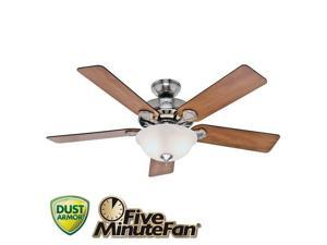 Fan Ceil 52In 5203Cfm 5Bld HUNTER FAN COMPANY Ceiling Fans 53249/28723