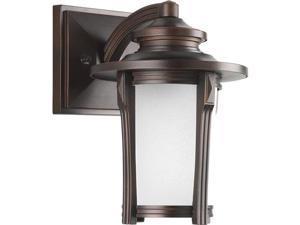 Progress Lighting P5980 Pedigree Single-Light Energy Efficient Small Outdoor CFL, Autumn Haze
