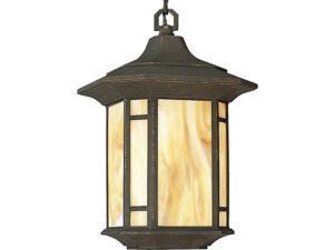 Progress Arts And Crafts One-Light Hanging Lantern - P5528-46