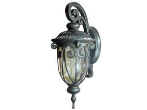 "Yosemite 519SDI 1 Light 18.25"" Height Outdoor Wall Sconce from the Viviana Colle, Oil Rubbed Bronze"