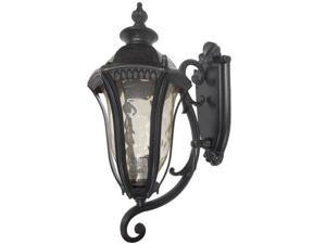 """Yosemite 326SUI Straford 1 Light 16"""" Outdoor Wall Sconce, Oil Weathered Bronze"""