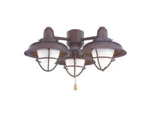 Emerson LK40 3 Light Boardwalk Cage Ceiling Fan Light Kit