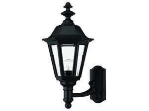 Hinkley Lighting 1419BK Wall Sconces , Outdoor Lighting, Black