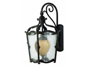 Hinkley Lighting 1425AI Wall Sconces , Outdoor Lighting, Aged Iron with Antique Copper Highlights