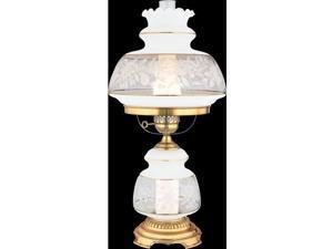Quoizel 1 Light Satin Lace Table Lamp - SL703G