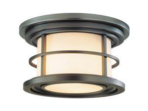 Feiss Lighthouse 2-Light Ceiling Fixture in Burnished Bronze - OL2213BB
