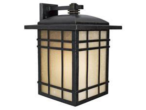 Quoizel 1 Light Hillcrest Outdoor Wall Lanterns in Imperial Bronze - HC8413IBFL