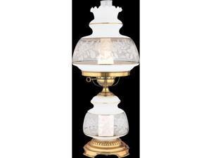 Quoizel 1 Light Satin Lace Table Lamp - SL702G