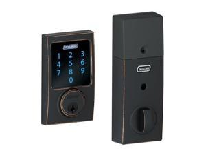 Schlage BE469NXCEN716 Keyless Entry , Deadbolt, Aged Bronze