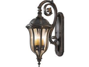 Feiss Baton Rouge 4-Light Wall Lantern in Walnut - OL6004WAL