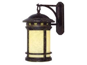 Yosemite FL102511 Single Light Down Lighting Large Outdoor Wall Sconce from the, Desert Night