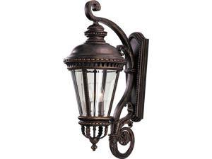 Feiss Castle 4-Light Wall Lantern in Grecian Bronze - OL1904GBZ