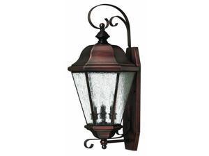 Hinkley Lighting 2268AP Wall Sconces , Outdoor Lighting, Antique Copper