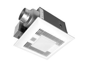 Panasonic FV-08VKSE3 WhisperGreen LED 80 CFM 0.3 Sone Ceiling Mounted Energy Sta