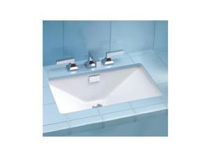 LT931-01 Lloyd Undermount Vitreous China 23 in. x 16 in. Rectangular Bathroom Sink (Cotton White)