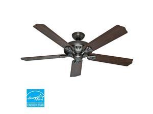 54017 60 in. Royal Oak Antique Pewter Ceiling Fan with Handheld Remote