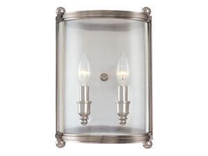 Hudson Valley Lighting 1302-PN Wall Sconces , Indoor Lighting, Polished Nickel