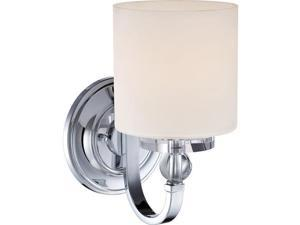 Quoizel 1 Light Downtown Wall Fixture in Polished Chrome - DW8701C