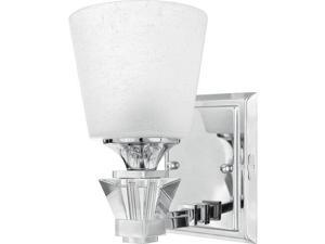 Quoizel 1 Light Deluxe Bath Fixture in Polished Chrome - DX8601C