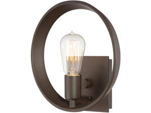 Quoizel 1 Light Uptown Theater Row Wall Fixture in Western Bronze - UPTR8701WT