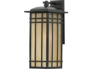 Quoizel 1 Light Hillcrest Outdoor Wall Lanterns in Imperial Bronze - HCE8409IB