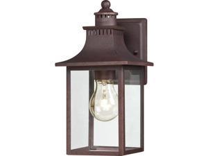 Quoizel Chancellor Outdoor Wall Lantern, Copper Bronze - CCR8406CU