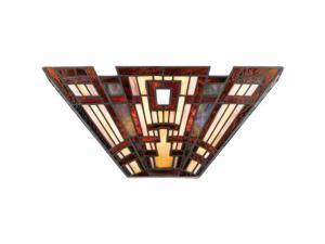 Quoizel 2 Light Classic Craftsman Wall Fixture in Valiant Bronze - TFCC8802