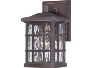Quoizel Stonington Outdoor Wall Lantern in Palladian Bronze - SNN8406PN