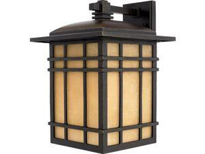 Quoizel 1 Light Hillcrest Outdoor Wall Lanterns in Imperial Bronze - HC8413IB