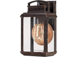 Quoizel 1 Light Byron Outdoor Wall Lantern in Imperial Bronze - BRN8406IB