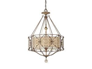Murray Feiss F2697/3BRB/OBZ Pendants , Indoor Lighting, British Bronze / Oxidized Bronze