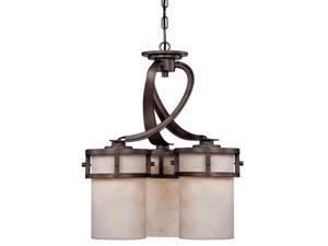 Quoizel 3 Light Kyle Chandelier in Iron Gate - KY5103IN