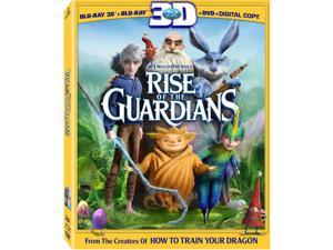 Rise of the Guardians 2D-3D