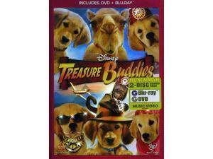Treasure Buddies 2-Disc BLU-RAY Combo Pack