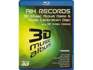 3D Music Album-Aix Audio Calibration Disc & 3D Vid