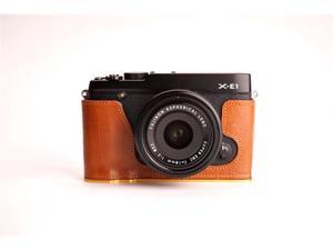 Camera Half Case for Fujifilm X-E1 (Light Brown)