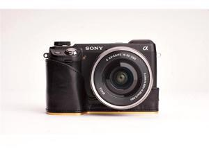 Camera Half case for SONY NEX-6 (Black)